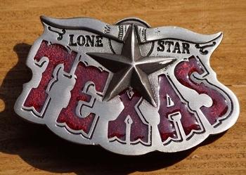 "Buckle / gesp  ""  Lone star Texas """