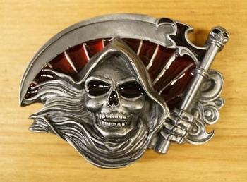 """Belt buckle  """" Grim reaper """""""