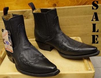 Western laarzen half hoog