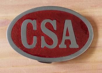 """Buckle / gesp  """" CSA """""""