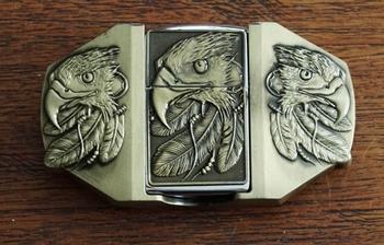 """Belt buckle with lighter """" Adelaars """""""