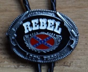 """Bolo tie  """"  Rebel """""""