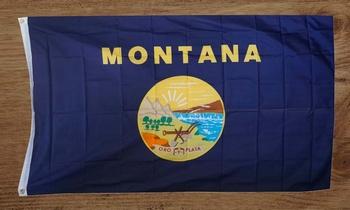 """Amerikaanse Staten gevelvlag  """" Montana """""""