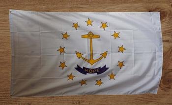 """Amerikaanse Staten gevelvlag  """" Rhode Island """""""