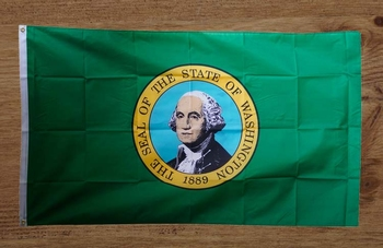 "Amerikaanse Staten vlag  "" Washington """