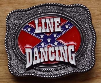 Line dance buckle