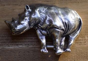 "Buckle / gesp  "" Nijlpaard """