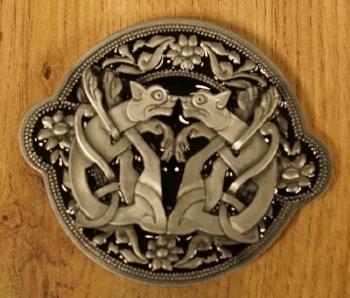 "Buckle / gesp  "" Celtic symbool """