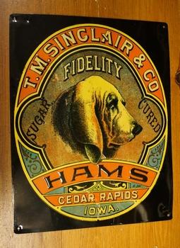 "Billboard  "" T.M. Singlair & co Hams """