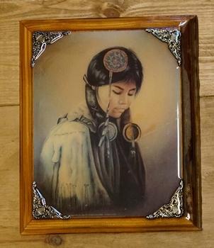 """Western schilderij """" Indiaanse """""""