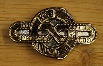 "Belt buckle "" Celtic eight """