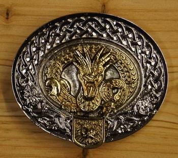 "Belt buckle  ""  Nidhug Dragon """