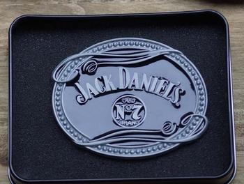 "Buckle   "" Jack Daniels ""  Old no 7"