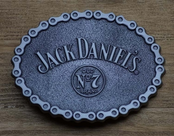 "Buckle   "" Jack Daniel's ""  Old no 7"