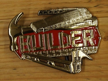 "Buckle  "" Builder ""  ( Bouwvakker )"