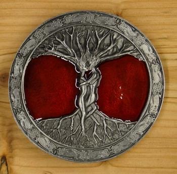 "Buckle  "" Tree of life """