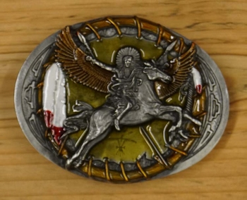 "Buckle / gesp  "" Flying horse """