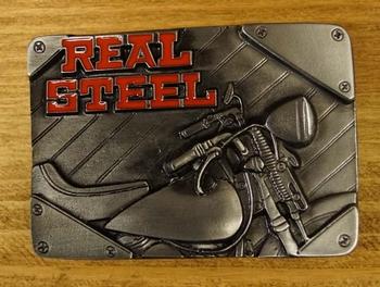 """Buckle / gesp  """" Real steel """""""
