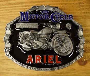 """Motor cycle buckle  """" Ariel """""""