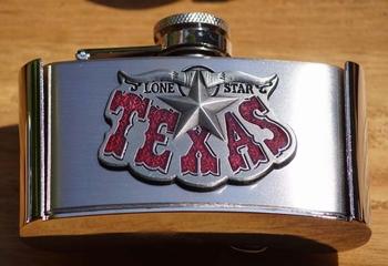 """Buckle  """" Drankflesje Texas """""""