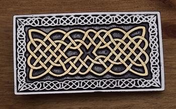 "Belt buckle  "" Celtic knot """