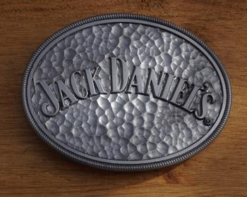 """Belt buckle  """" Jack Daniels """""""