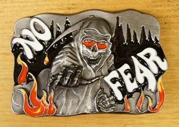 """Belt buckle   """" No fear """""""