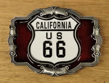 "Buckle  "" California us 66 """