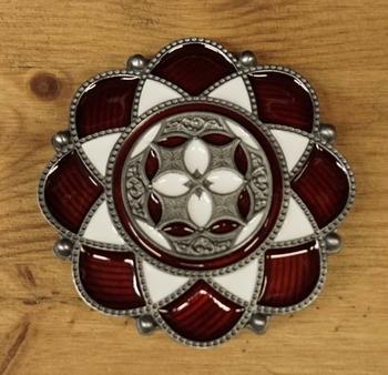 "Buckle / gesp  "" Celtic lotusbloem """