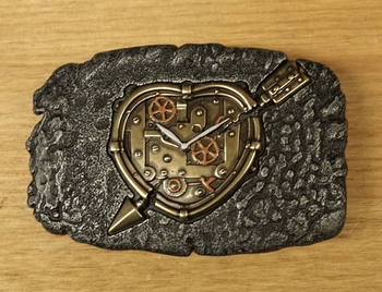 "Buckle  "" Steampunk klok """
