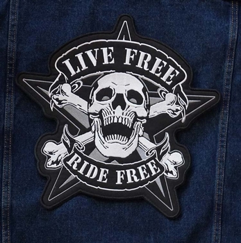 "Applicatie  "" Live free, ride free """