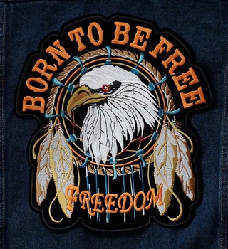 "Applicatie  "" Born to bee free, freedom """