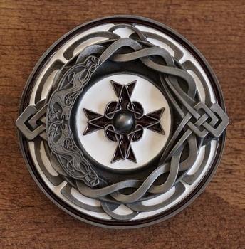 """Buckle / gesp """" Keltische kruis """""""