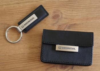 """Cadeauset Honda """" Sleutelhanger + portemonnee """""""