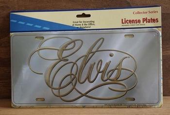 """Amerikaanse kentekenplaat  """" Elvis """""""
