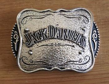 """Buckle   """" Jack Daniels """"  Zilverkleurig / zwart"""
