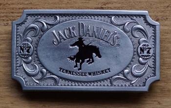 "Buckle / gesp "" Jack Daniel ""  Mustang riding"
