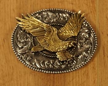 """Belt buckle  """" Vliegende adelaar """""""