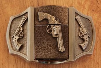 """Aansteker gesp  """" Revolvers """""""
