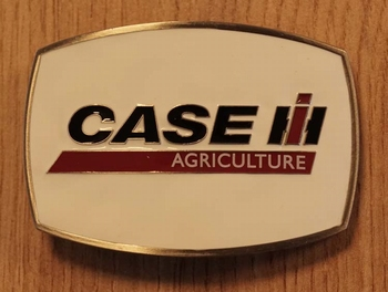 """Buckle  """" Case IH  agriculture """"   wit"""