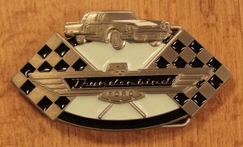 "Buckle  ""  Thurderbird Ford """