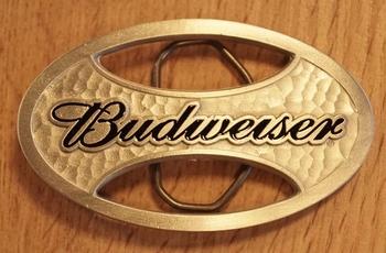"Buckle  "" Budweiser """