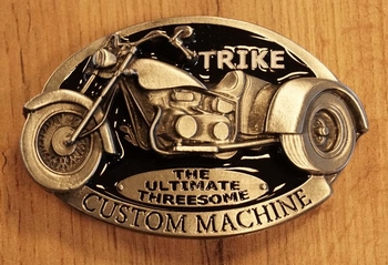 "Buckle  "" Trike custom machine """