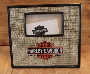 """Fotolijst  """" Harley Davidson """"  logo"""