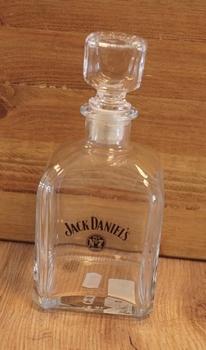 "Glazen karaf "" Jack Daniels """