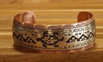 "Indiaanse armband "" Indianen, hut, paard, tempel, pijlen """