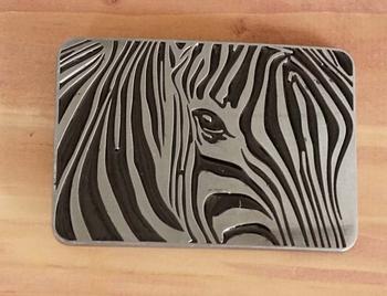 "Belt buckle "" Zebra """