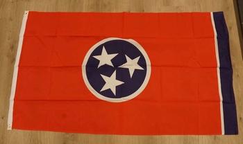 "Amerikaanse Staten vlag  "" Tennessee """