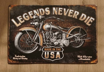 """Billboard """" Legends never die made in the USA """""""
