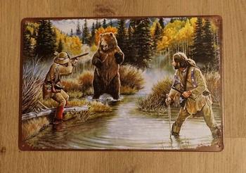 """Billboard """" Hunters op jacht """""""